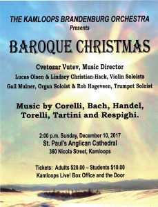 Baroque Christmas 2017